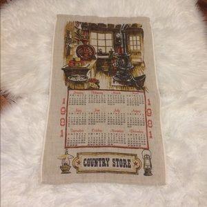 🦋2/$10 3/$15 4/$18 5/$20 Vintage 1981 Linen Towel